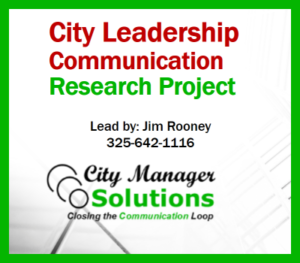 City Leadership Communication Research Project